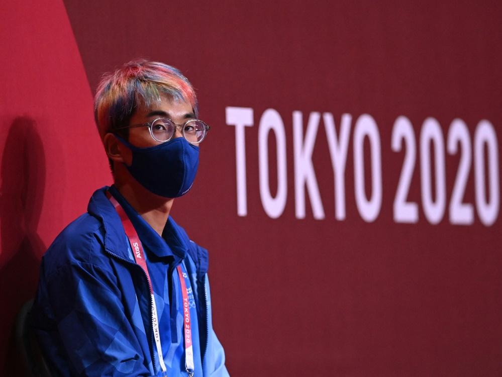 In Tokio gibt es strenge Hygienemaßnahmen (© AFP/SID/DANIEL LEAL-OLIVAS)