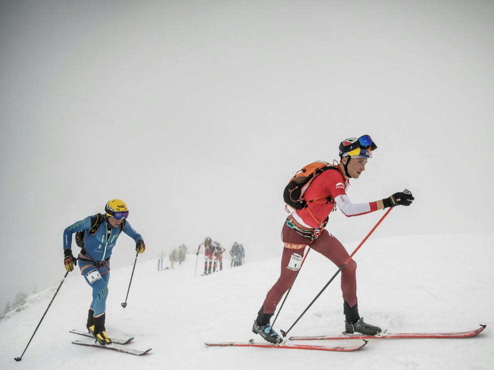 IOC nimmt Skibergsteigen  ab 2026 ins Programm auf (© AFP/SID/JEFF PACHOUD)